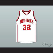 Jimmer Fredette 32 Glens Falls Indians White Basketball Jersey