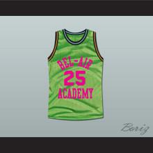 The Fresh Prince of Bel-Air Alfonso Ribeiro Carlton Banks Bel-Air Academy Neon Green Basketball Jersey