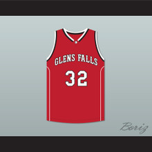 Jimmer Fredette 32 Glens Falls Indians Away Basketball Jersey