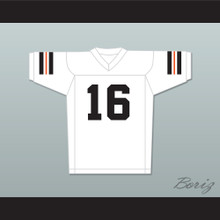Tony Romo 16 Burlington High School Demons White Football Jersey