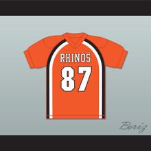 Hingle McCringleberry 87 Rhinos Football Jersey Key & Peele