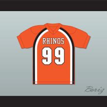 Ozamataz Buckshank 99 Rhinos Football Jersey Key & Peele