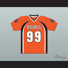 Ozamataz Buckshank 99 Rhinos Football Jersey with Patches Key & Peele