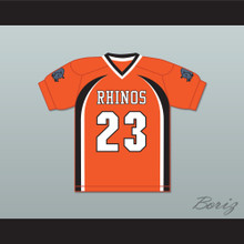 Jammie Jammie-Jammie 23 Rhinos Football Jersey with Patches Key & Peele