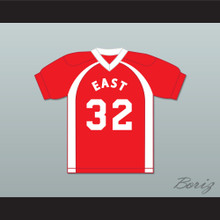 East/West College Bowl D'Jasper Probincrux III 32 East Football Jersey Key & Peele