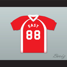 East/West College Bowl D'Squarius Green Jr 88 East Football Jersey Key & Peele
