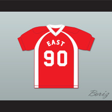 East/West College Bowl Jackmerius Tacktheritrix 90 East Football Jersey Key & Peele