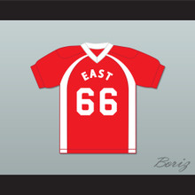 East/West College Bowl L'Carpetron Dookmarriot 66 East Football Jersey Key & Peele