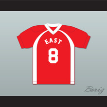 East/West College Bowl Leoz Maxwell Jilliumz 8 East Football Jersey Key & Peele
