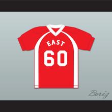 East/West College Bowl T'Variusness King 60 East Football Jersey Key & Peele