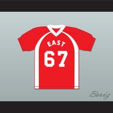 East/West College Bowl Tyroil Smoochie-Wallace 67 East Football Jersey Key & Peele