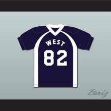 East/West College Bowl X-Wing @Aliciousness 82 West Football Jersey Key & Peele