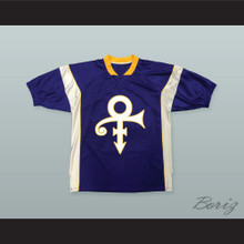 Prince Tribute Minnesota Purple Football Jersey