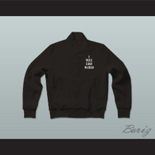 Pablo Escobar I Feel Like Pablo Black Varsity Letterman Jacket-Style Sweatshirt