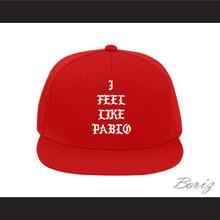 Pablo Escobar I Feel Like Pablo Red Baseball Hat