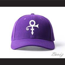 Prince Symbol Purple/White Baseball Hat