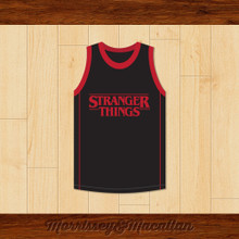 Eleven 11 Stranger Things Basketball Jersey by Morrissey&Macallan