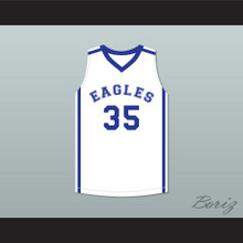 Brian Newell 35 Eagles High School Basketball Jersey Thunderstruck