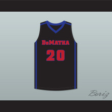Markelle Fultz 20 DeMatha Stags Black Basketball Jersey