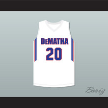 Markelle Fultz 20 DeMatha Catholic High School Stags White Basketball Jersey