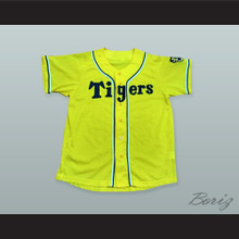 Hanshin Tigers Yellow Baseball Jersey with Patch