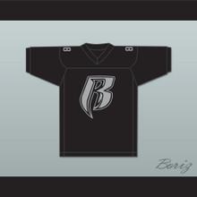 Eve Rough Ryders 88 Black Football Jersey