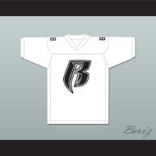 Jadakiss Rough Ryders 88 White Football Jersey