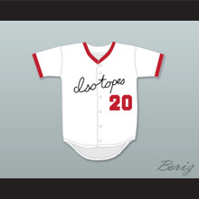 Homer Simpson 20 Springfield Isotopes Baseball Jersey