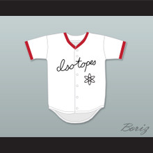 Homer Simpson 20 Springfield Isotopes Button Down Baseball Jersey
