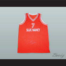 Adrian Autry 7 Sluc Nancy Basketball Jersey