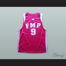 Mile Ilic 9 FMP Reflex Red Star Basketball Jersey