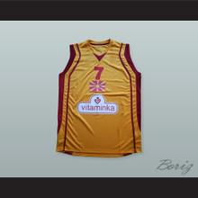 Lester 'Bo' McCalebb 7 Macedonia Basketball Jersey