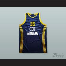Dario Saric 35 KK Zagreb Basketball Jersey