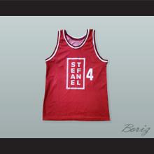 Dejan Bodiroga 4 Stefanel Milano Basketball Jersey