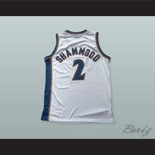 God Shammgod 2 Pro Career White Basketball Jersey