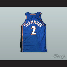 God Shammgod 2 Pro Career Blue Basketball Jersey