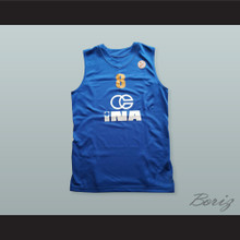 Mario Hezonja 8 KK Zagreb Osiguranje Basketball Jersey with Patch
