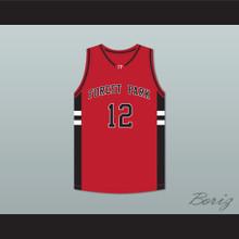 Matt Krentz John Hogan 12 Forest Park Highlanders Basketball Jersey Streetballers