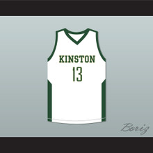 Brandon Ingram 13 Kinston High School Vikings White Basketball Jersey
