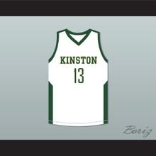 Brandon Ingram 13 Kinston High School White Basketball Jersey