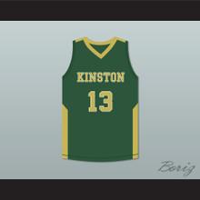 Brandon Ingram 13 Kinston High School Vikings Green Basketball Jersey