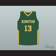 Brandon Ingram 13 Kinston High School Green Basketball Jersey