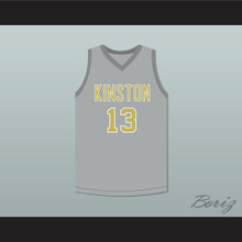 Brandon Ingram 13 Kinston High School Vikings Gray Basketball Jersey