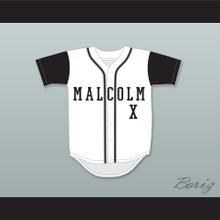 Malcolm X White Baseball Jersey A Different World