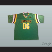 Jamaica 06 Green Football Jersey