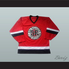 Bad Religion 98 Red Hockey Jersey