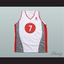 Steve Nash Canada White Basketball Jersey