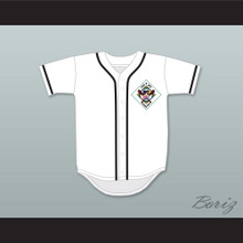 Rick Caraballo 35 Salamanders Baseball Jersey 1st Annual Rock N' Jock Diamond Derby
