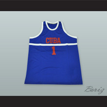 Cuba National Team Basketball Jersey Any Player