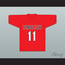 Big Noyd 11 Hennessy Red Football Jersey